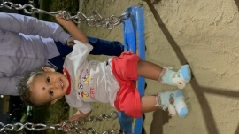 Sandeep Playing in Seesaw at P...